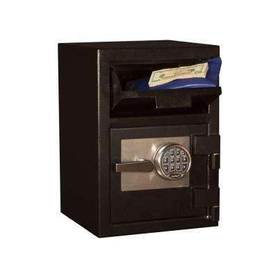 0.67 cu. ft. Steel Deposit Safe Electronic Lock, Black