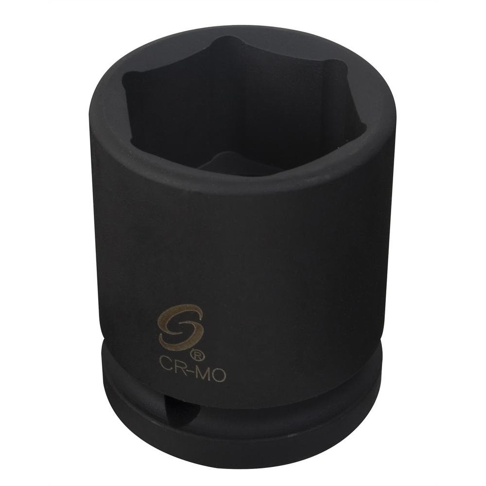 Sunex 442M 3//4 Drive Standard 6 Point Metric Impact Socket 42mm