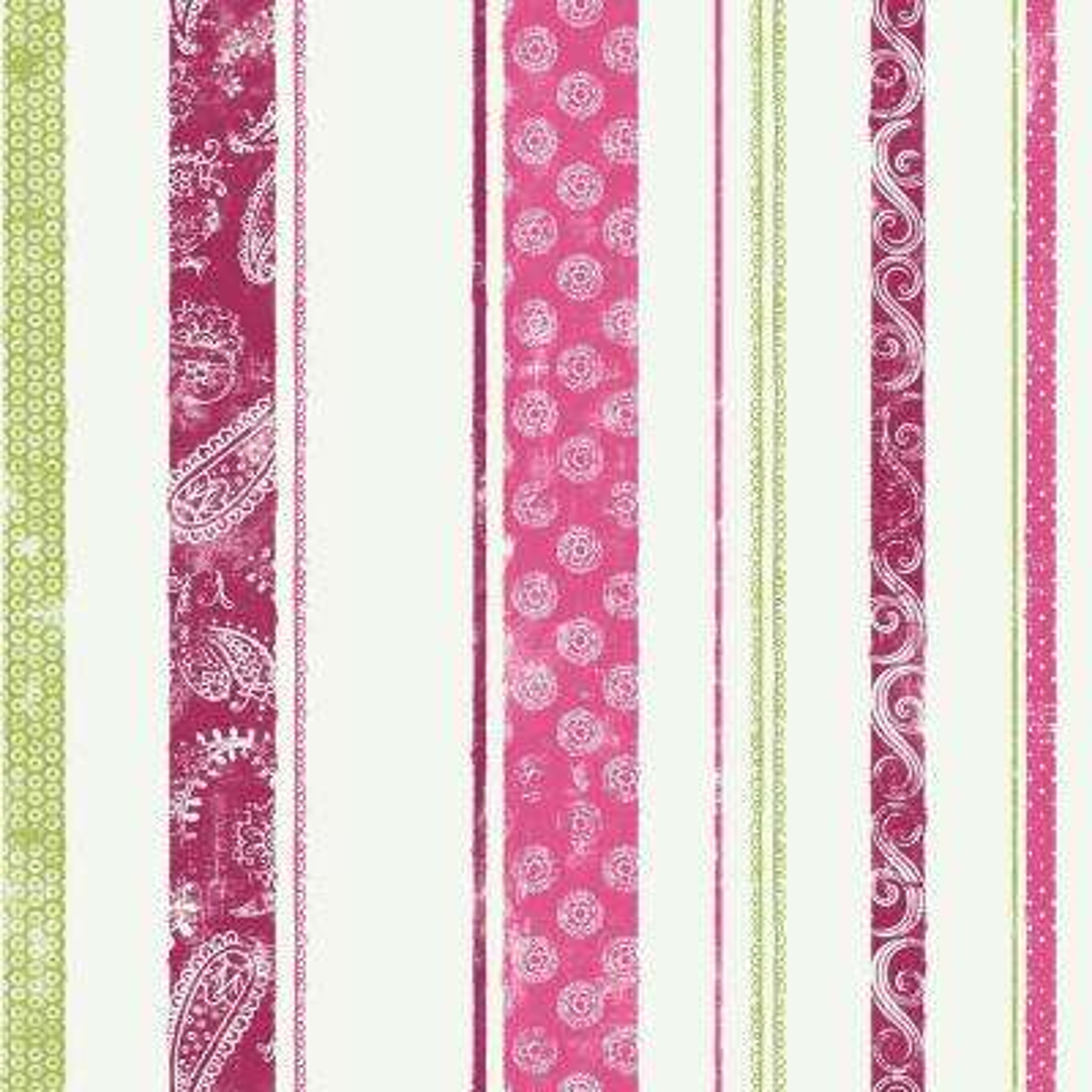 Disney Paisley Stripe Wallpaper