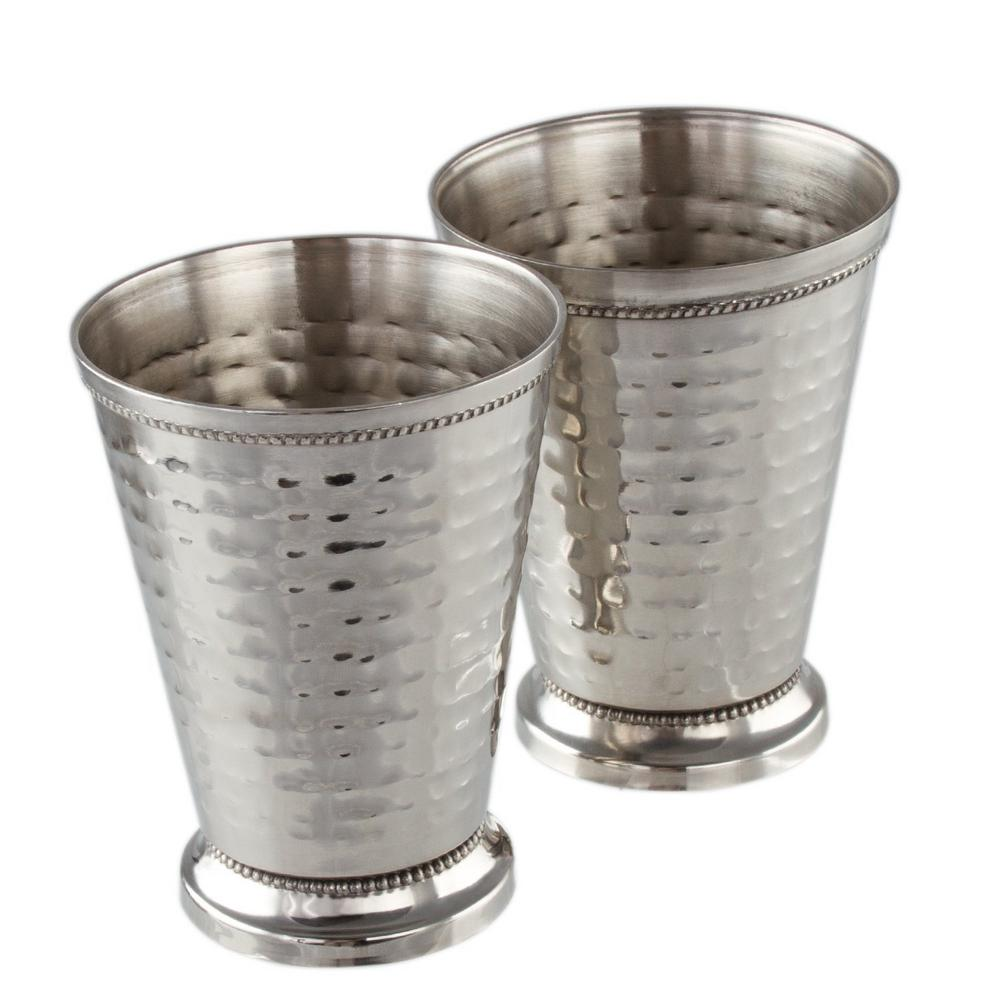 12 oz stainless steel mint julep cups 2 pack mw29202p the stainless steel mint julep cups 2 pack reviewsmspy