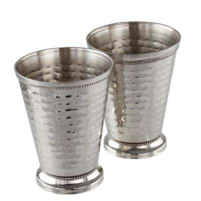 12 oz. Stainless Steel Mint Julep Cups (2-Pack)