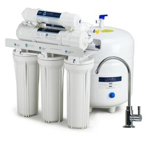 Olympia Water Systems Alkaline Remineralization 6-Stage Under-Sink Reverse Osmosis Water Filtration System with 80 GPD Membrane by Olympia Water Systems
