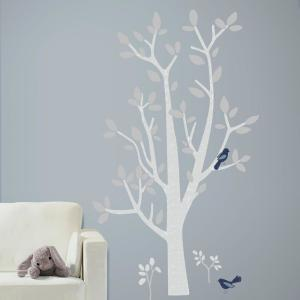 5 In X 19 Patina Vie Woodland Tree 74 Piece L And Stick Giant Wall Decals