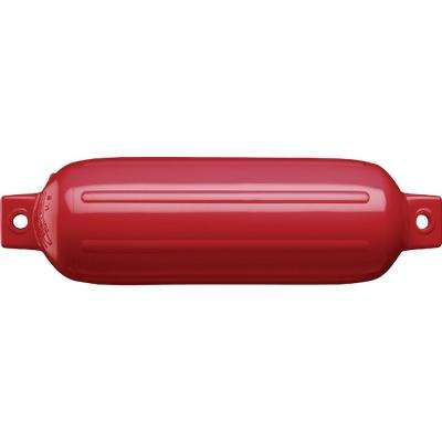 6.5 in. x 22 in. Twin Eye Fender, Classic Red