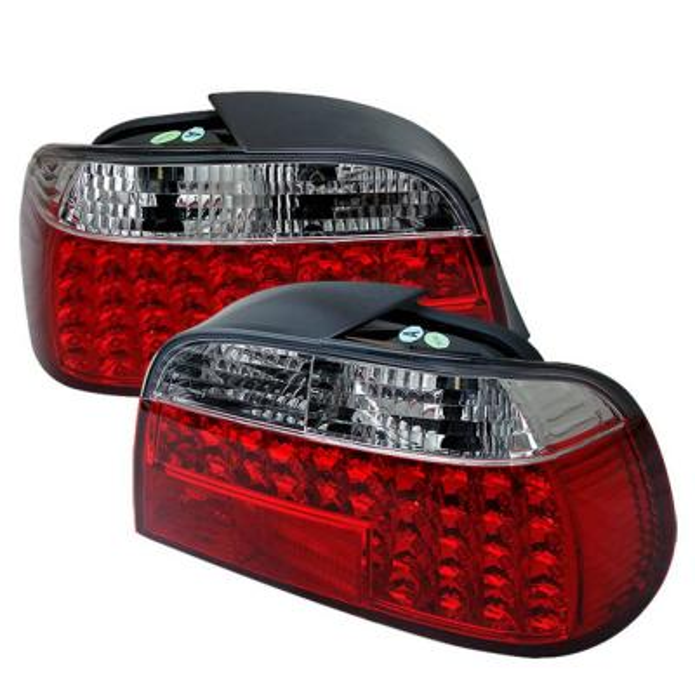 Fit Honda 97-01 Prelude Smoke Euro Style Rear Tail Lights Lamp Set Base Type-SH