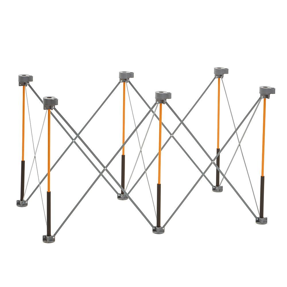 Bora Centipede CK6S 2ft x 4ft 6-Strut Work Table, Foldable Saw Horse
