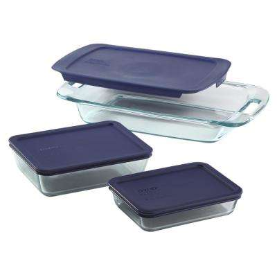 Bake and Store Easy Grab 6-Piece Bakeware Set