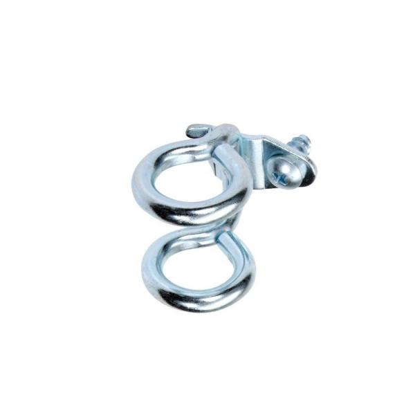 1-7/8 in. Double Ring 3/4 in. I.D. Zinc Plated Steel Tool Holder (10-Pack)