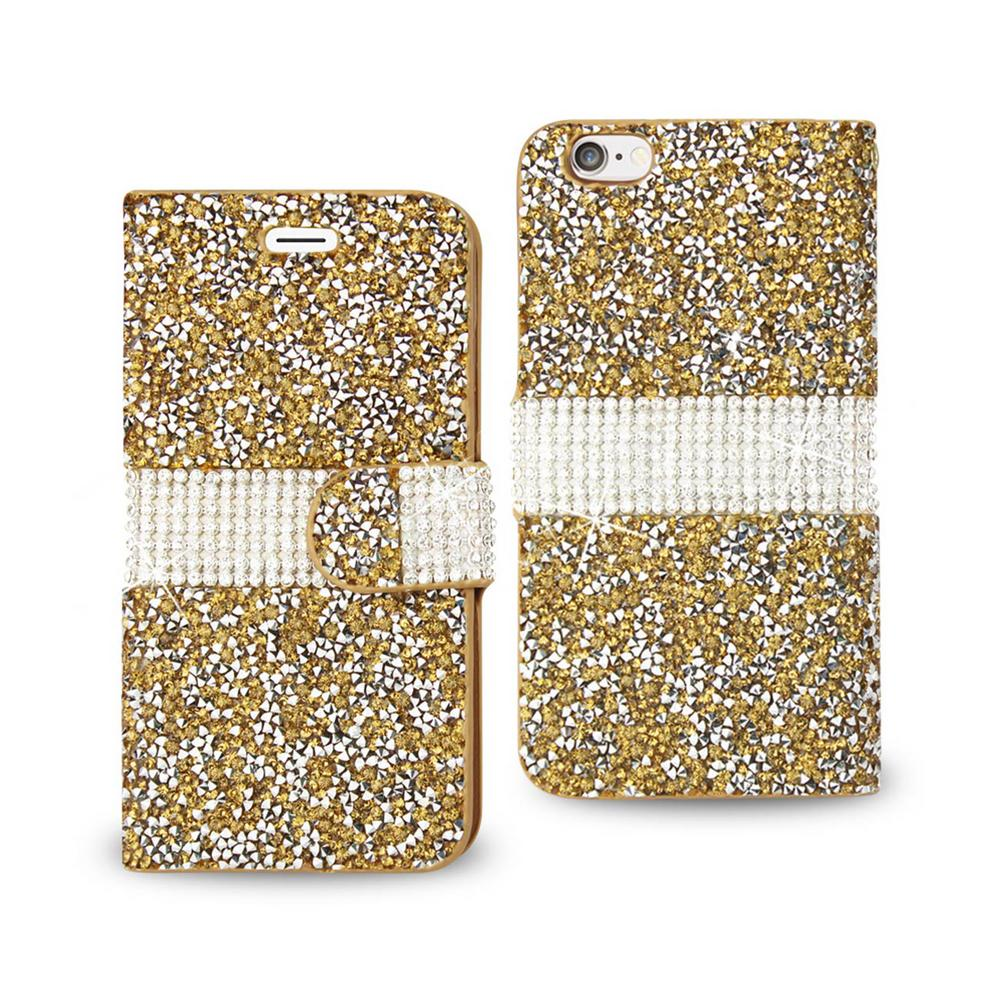 iPhone 6/6S Rhinestone Case in Gold