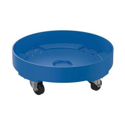 600 lb. Capacity Drum Dolly Blue Poly