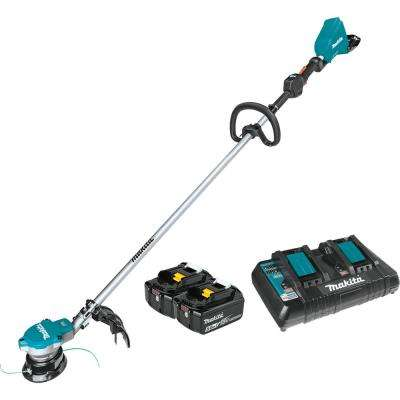 18-Volt X2 (36-Volt) LXT Lithium-Ion Brushless Cordless String Trimmer Kit (5.0 Ah)