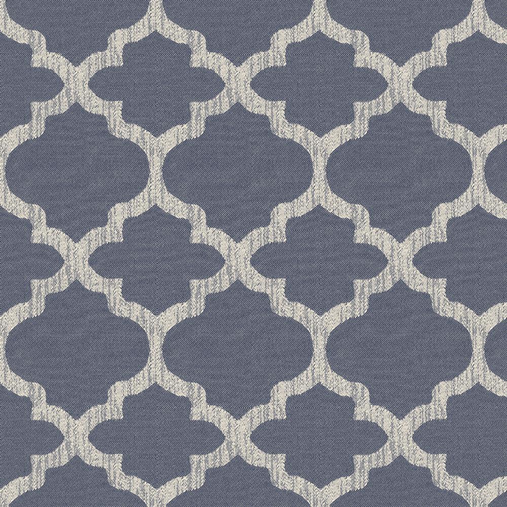 CushionGuard Midnight Trellis Fabric By the Yard