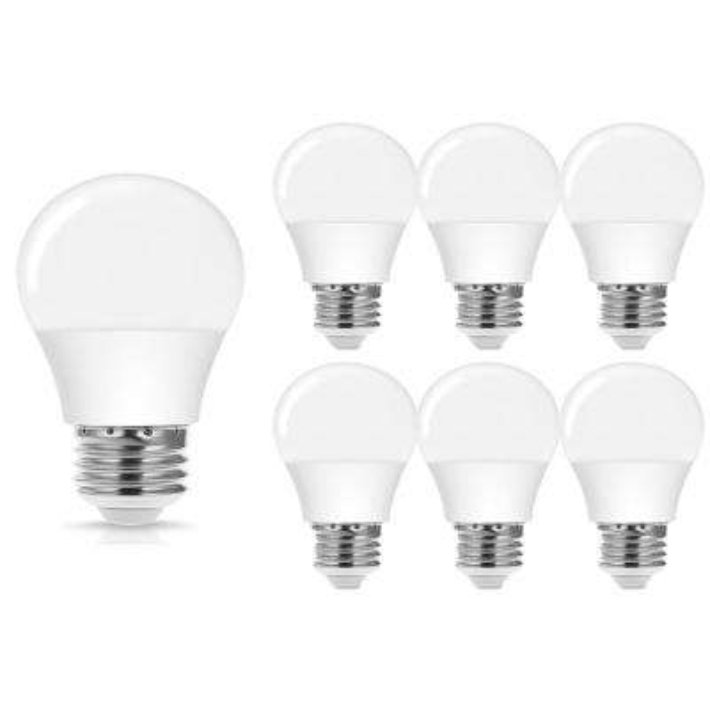 40-Watt Equivalent 4-Watt A15 Non-Dimmable LED Light Bulb E26 Base in Warm White 3000K (6-Pack)