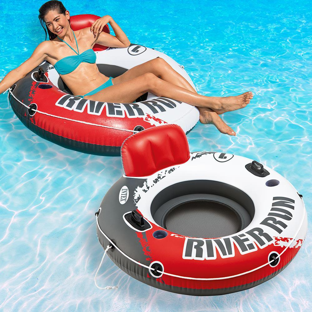 Intex Red River Run 1-Fire Edition Pool Float (2-Pack)