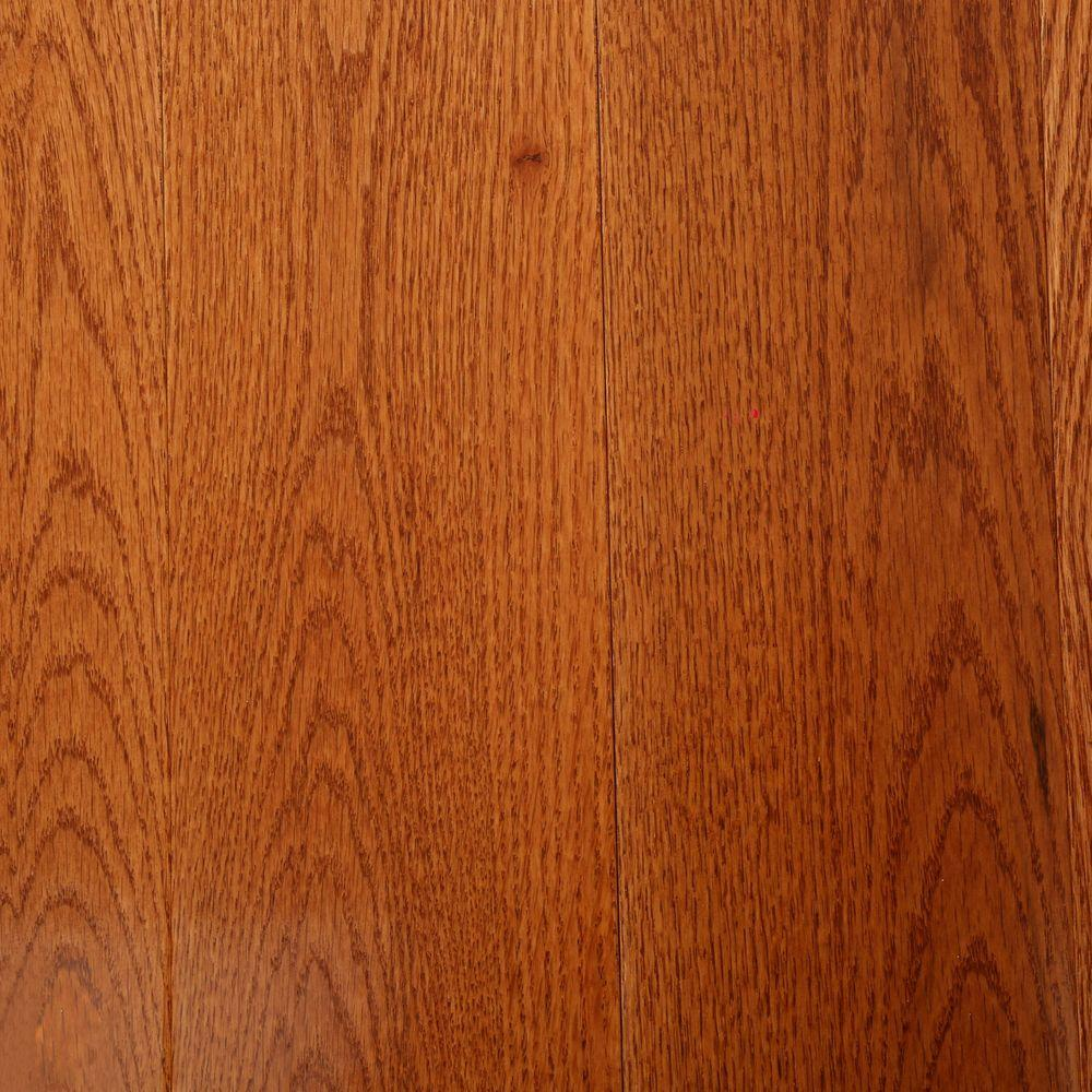 Bruce Oak Gunstock 3/4 in. Thick x 5 in. Wide x Varying Length Solid Hardwood Flooring (23.5 sq. ft. / case)