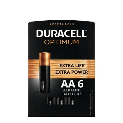 Optimum AA Alkaline Battery (6-Pack)