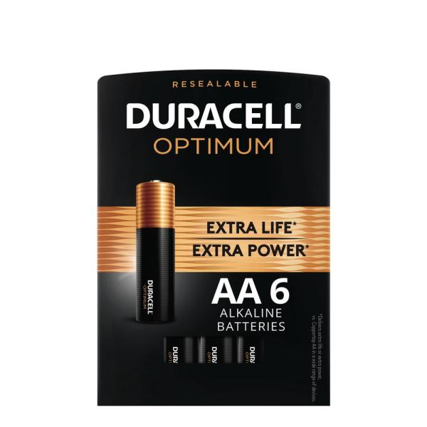Optimum AAA Alkaline Battery (6-Pack)