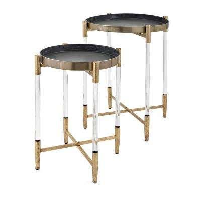 Anabelle Metal Table (2-Pack)