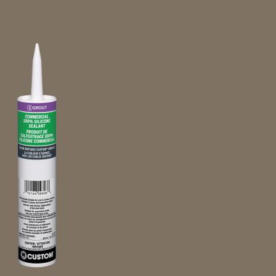 Commercial #544 Rolling Fog 10.1 oz. Silicone Caulk