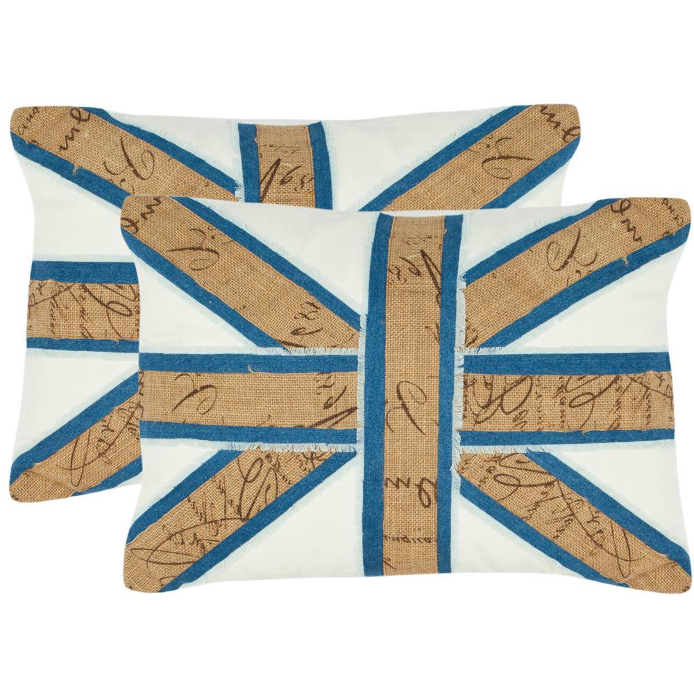 Safavieh Charles Embellished Applique Pillow (2-Pack)