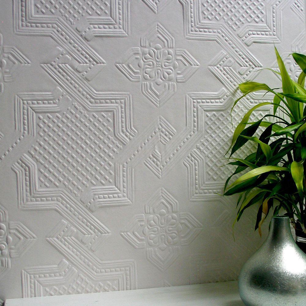 Seymour Paintable Supaglypta Wallpaper