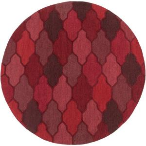 Artistic Weavers Pollack Morgan Cherry 8 ft. x 8 ft. Round Indoor Area Rug by