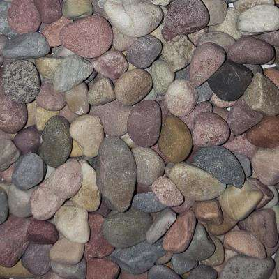 0.50 cu. ft. 40 lb. 1/2 in. Pami Multi-Color Decorative Landscaping Pebble