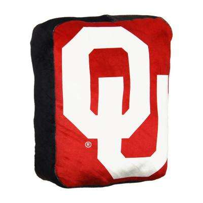 Oklahoma Multi Color Polyester Cloud Pillow