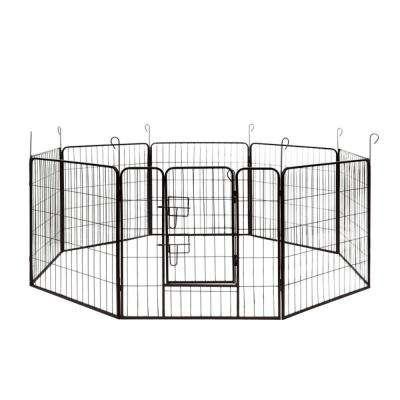 2.5 ft. H x 5.5 ft. W x 5.5 ft. L Dog Kennel