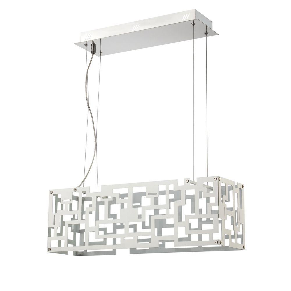 Eurofase Metrix Collection 16-Light Chrome LED Pendant