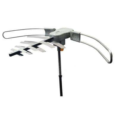 Premium HDTV Long Range Digital TV Antenna Powered for Maximum Distance Over the Air TV Stations