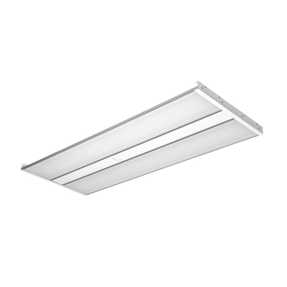 4 ft. White LED 100-Watt Linear High Bay Fixture with Natural
