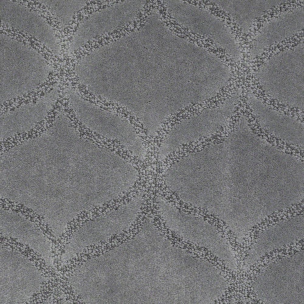 Carpet Sample - Kensington - In Color Hammerhead 8 in. x 8 in.