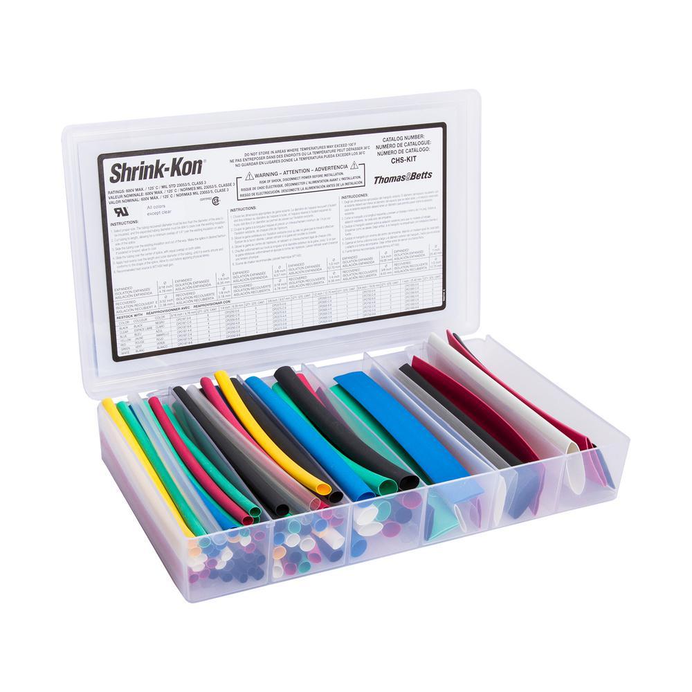 Colored Heat Shrink Kit