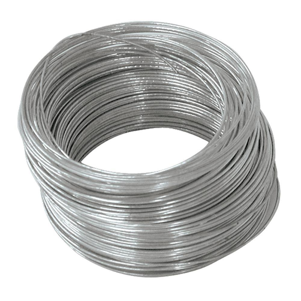 OOK 100 ft. 25 lb. 22-Gauge Galvanized Steel Wire-50135 - The Home ...