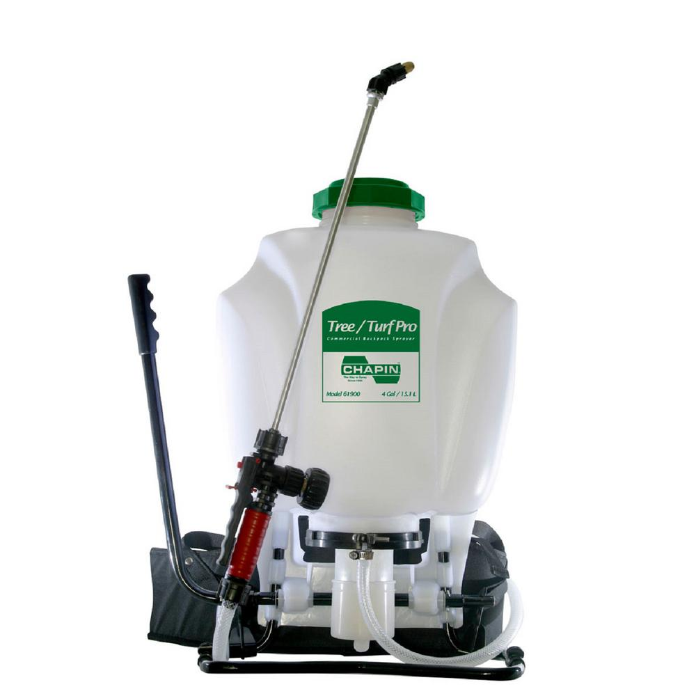 Chapin 4 Gal Tree Turf Pro Commercial Backpack Sprayer With Swing Away Handle 61950 The Home Depot
