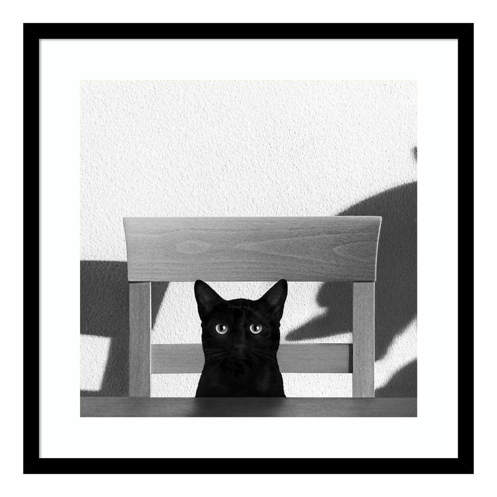 """""""Where Is My Coffee?"""" by Jon Bertelli Framed Wall Art"""