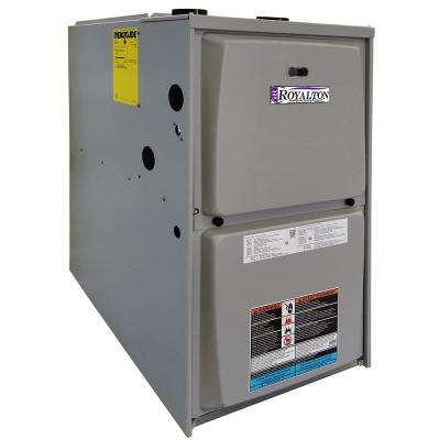 88,000 BTU 95% AFUE Single-Stage Upflow/Horizontal Forced Air Natural Gas Furnace with ECM Blower Motor
