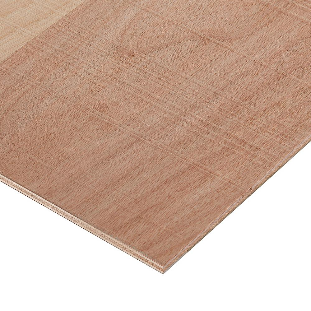 Columbia Forest Products 1/2 in. x 2 ft. x 8 ft. Rough Sawn Birch Plywood Project Panel