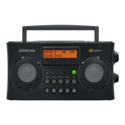 FM/AM HD Portable Stereo Radio