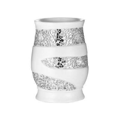 Sparkling Tumbler in White