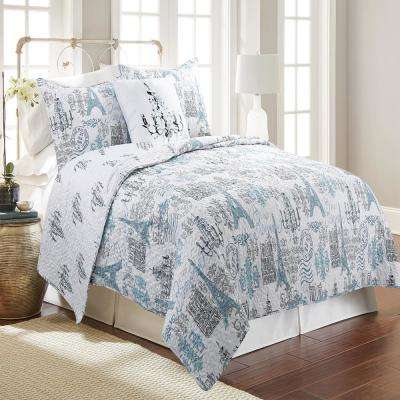 Oma Linen Full and Queen Bedspread