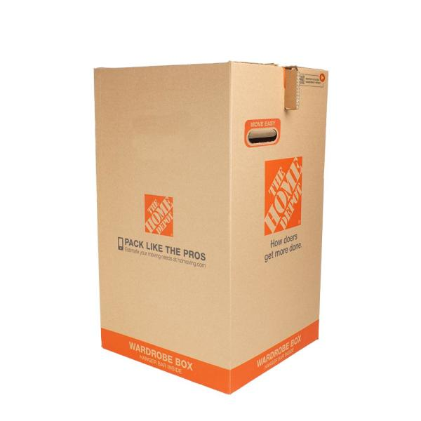 20 in. W x 20 in. L x 34 in. D Wardrobe Moving Box (12-Pack)