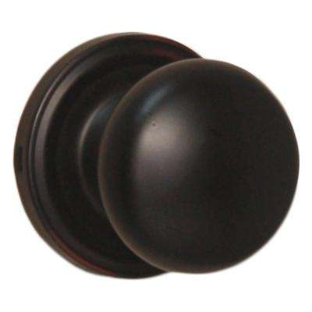 Traditionale Oil-Rubbed Bronze Half-Dummy Impresa Knob