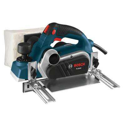 6.5 Amp 3-/14 in. Corded Planer Kit with 2 Reversible Woodrazer Micrograin Carbide Blades and Carrying Case