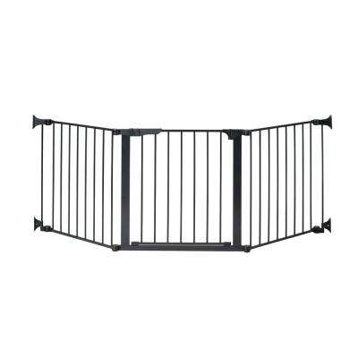 29.5 in. H Custom Fit Gate Auto Close Configure Gate in Black