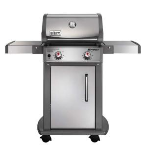 Weber Spirit S-210 2-Burner Propane Gas Grill in Stainless Steel with Built-In Thermometer by Weber