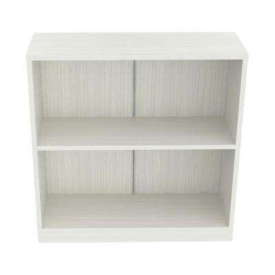 Laricina White Bookcase-Hutch