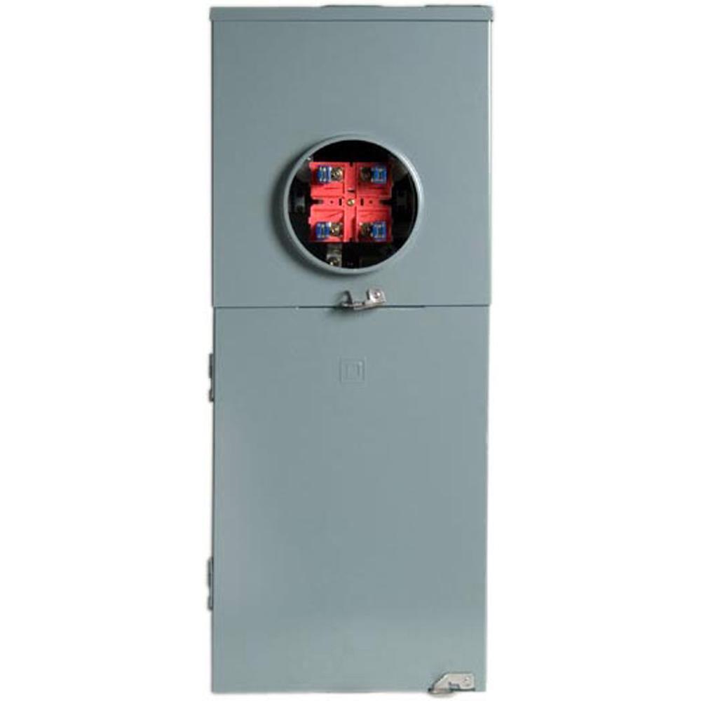 Homeline 200 Amp 20-Space 40-Circuit Outdoor Ringless Overhead/Underground Main Breaker CSED