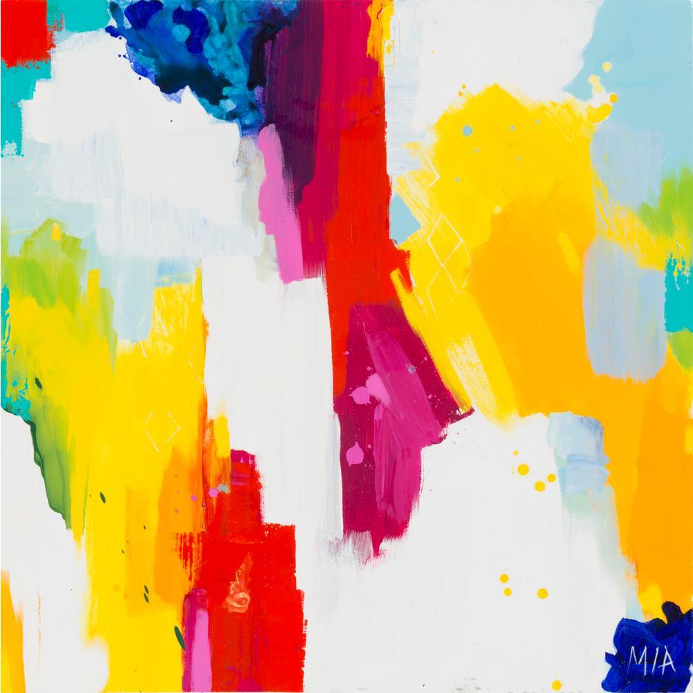 """40 in. x 40 in. """"Melanie"""" by Artistic Weavers Canvas Wall Art"""
